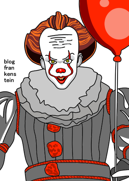 It: рисуем clown Pennywise in stages - шаг 27